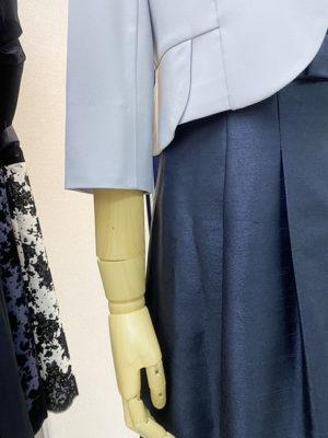 ペプラムジャケットボレロ袖